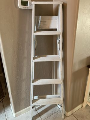 Rustic ladder shelf for Sale in Mesa, AZ