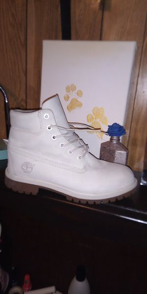 Women's White Timberlands for Sale in San Antonio, TX