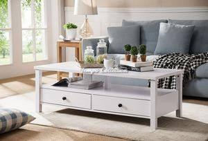 Coffee Table, White, SKU# ID161563CTTC for Sale in Santa Fe Springs, CA