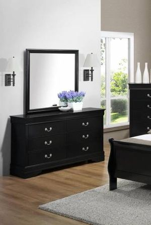 Louis Philip Black Dresser | B3450 for Sale in Austin, TX