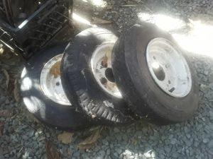 Tires for trailer for Sale in Concord, CA