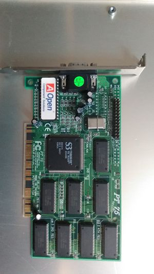 1/3 AOPEN PT-75 S3 VIRGE DX 4MB PCI VGA VIDEO GRAPHICS CARD for Sale in Los Angeles, CA