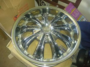 """22""""Rock Stars 4 lugs Rims All 4 in Box for Sale in Austin, TX"""