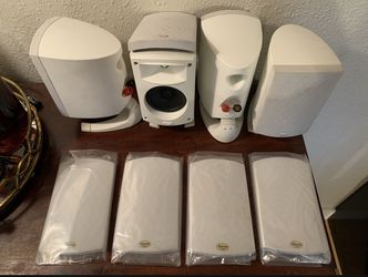 4 Klipsch Quintet II Satellite Speakers 8 ohm for Sale in Happy Valley,  OR