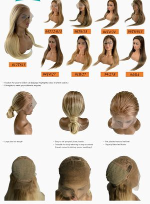 Beautiful bluxome blondes summertime lace wigs are in ladies for Sale in Smyrna, GA