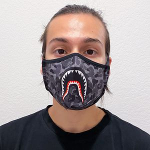 Bape Camo Shark face mask dust cover for Sale in Richmond, TX