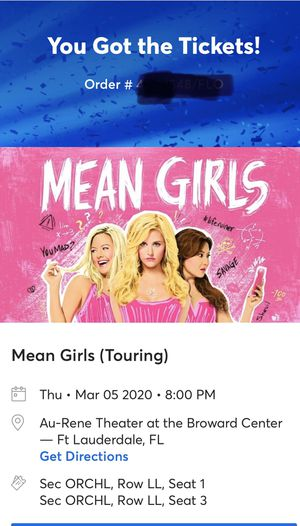 Mean Girls Broadway for Sale in Coconut Creek, FL