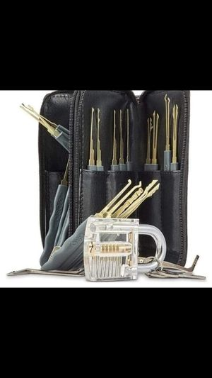 26pc Locksmith Practice Kit for Sale in St Louis, MO