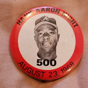 Hank Aaron button.. Make Offer for Sale in Livermore, CA