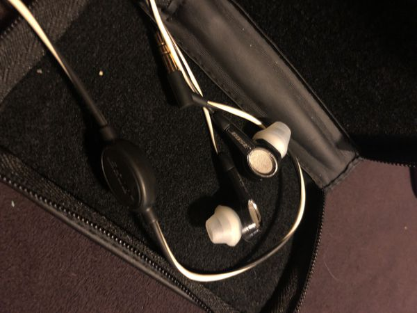 Bose in-ear wired headphones