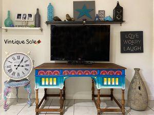 Boho Antique Desk💙 for Sale in Fort Lauderdale, FL