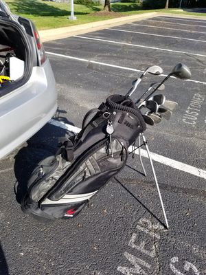 Bag and golf clubs for Sale in Falls Church, VA
