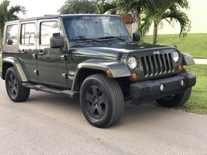 2007 JEEP WRANGLER SAHARA UNLIMITED ONLY $1000 DOWN!!! for Sale in Miramar, FL
