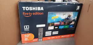 "50"" Toshiba 4k UHD Smart Fire LED Tv for Sale in Riverside, CA"