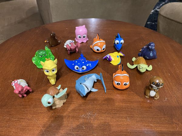 Nemo children's bath toys, 16 characters. $8 for all.