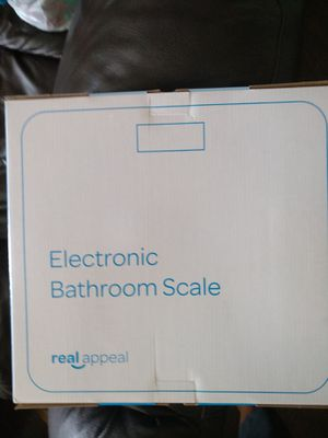 New Real appeal electronic bathroom scale for Sale in Kaysville, UT