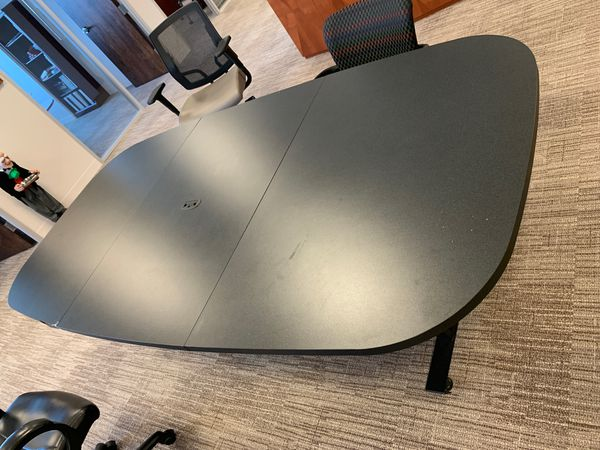 Black Conference Table