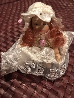 2 inch antique porcelain doll for Sale in Silver Spring, MD