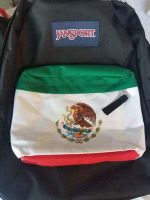 Jansport Backpack Mexican Flag 100% Authentic for Sale in Fullerton, CA