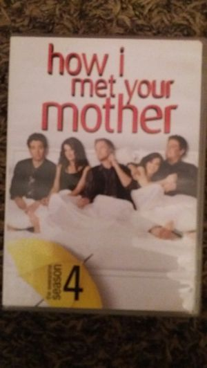 HOW I MET YOUR MOTHER Complete Season 4 (DVD) for Sale in Lewisville, TX