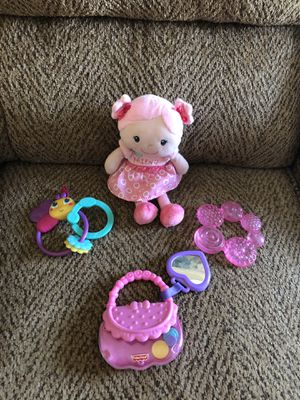 Baby rattles/teether/toys for Sale in St. Peters, MO