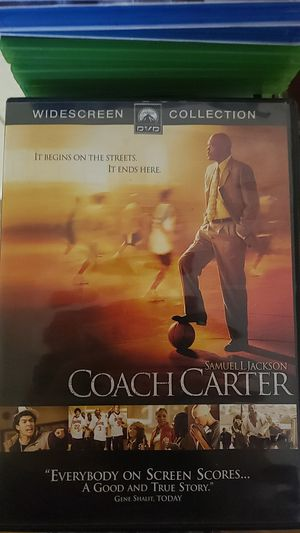Coach Carter DVD for Sale in Farmville, VA