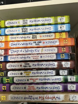 Diary of a wimpy kid and other random books for Sale in Aptos, CA