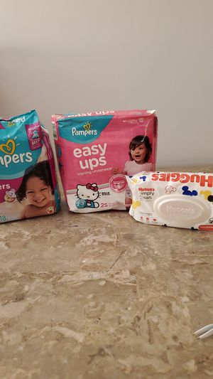 Pampers diapers & wipes 🛑 👀If it's listed, it's available😊 for Sale in Federal Way, WA
