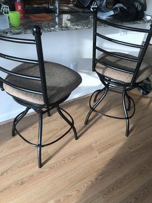 Swivel bar stools for Sale in Fairfax, VA