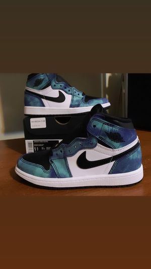 "Air Jordan 1 ""Tie-Dye"" Size 1.5y Pre-School (DS) for Sale in Salem, MA"