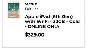 iPad 6th generation for Sale in UPPR CHICHSTR, PA