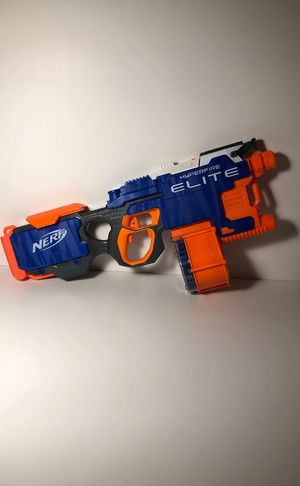 Nerf elite gun with 25 bullets for Sale in Pasco, WA