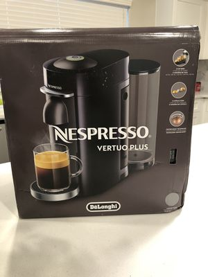 Brand New Delonghi Nespresso Vertuo Plus for Sale in Fresno, CA