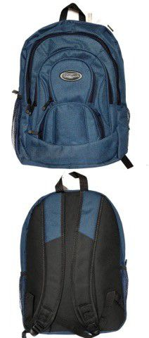 Brand NEW! Dark Blue Backpack For School/Traveling/Everyday Use/Work/Hiking/Biking/Gifts $14 for Sale in Carson, CA