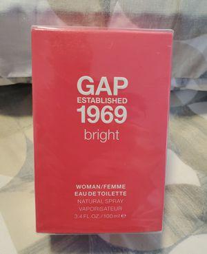 Brand New Gap Bright Women's Perfume Large 3.4oz 100ml - Rare for Sale in Dallas, TX