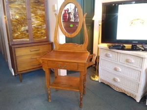 Antique wash stand with drawer and mirror for sale for Sale in St. Louis, MO
