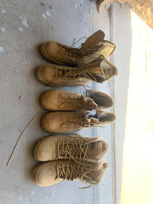 3 pairs of military boots. 9.5-10 for Sale in Las Vegas, NV