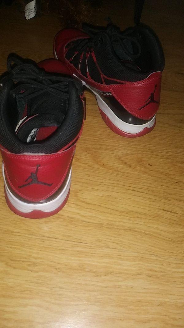 Red&black Jordan's