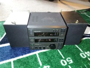Sony Mini HiFi Bookshelf Stereo system for Sale in Puyallup, WA