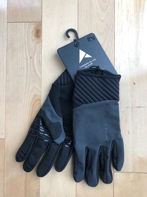 Altura Thermo Elite Gloves L dark reflective black for Sale in Issaquah, WA