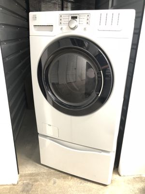 Kenmore Washer & Gas Dryer Set in White for Sale in Denver, CO