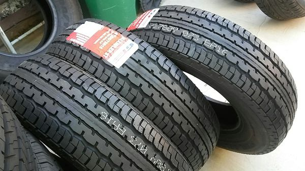 4 new ST tires 205/75/15..trailer tires GT