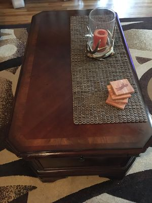 Beautiful solid lift coffee table for Sale in Golden, CO