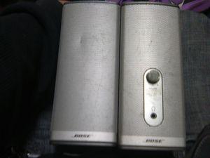 Bose computer/bookshelf speakers for Sale in Bakersfield, CA