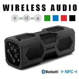 Portable Bluetooth 4.2 Wireless Speaker With Metal Hook Waterproof Power Bank Subwoofer Sound for Sale in Goodyear, AZ