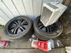 Tiers with rims for truck for Sale in San Jose, CA
