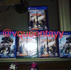 Division 2 and GHOST RECON ! Best offers ! for Sale in Temple Hills, MD