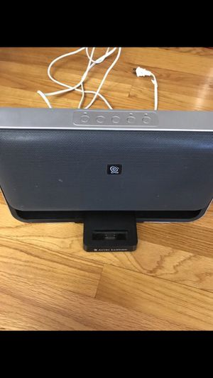 Altec Lansing M604 Powered Audio System for Zune for Sale in Clayton, NC