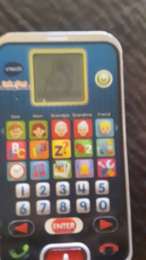 1/7 Vtech Call and Chat Childrens Educational Learning Phone Toy Pretend Smartphone for Sale in US