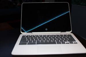 "HP - 2-in-1 14"" Touch-Screen Chromebook - Intel Celeron - 4GB Memory - 32GB eMMC Flash Memory - Ceramic White for Sale in Enterprise, NV"